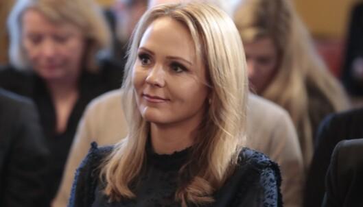 <strong>MÅ OFRES:</strong> Barne- og familieminister Linda Hofstad Helleland (H) kan være blant statsrådene som må gå ut av regjeringen. Foto: Lise Åserud/Scanpix