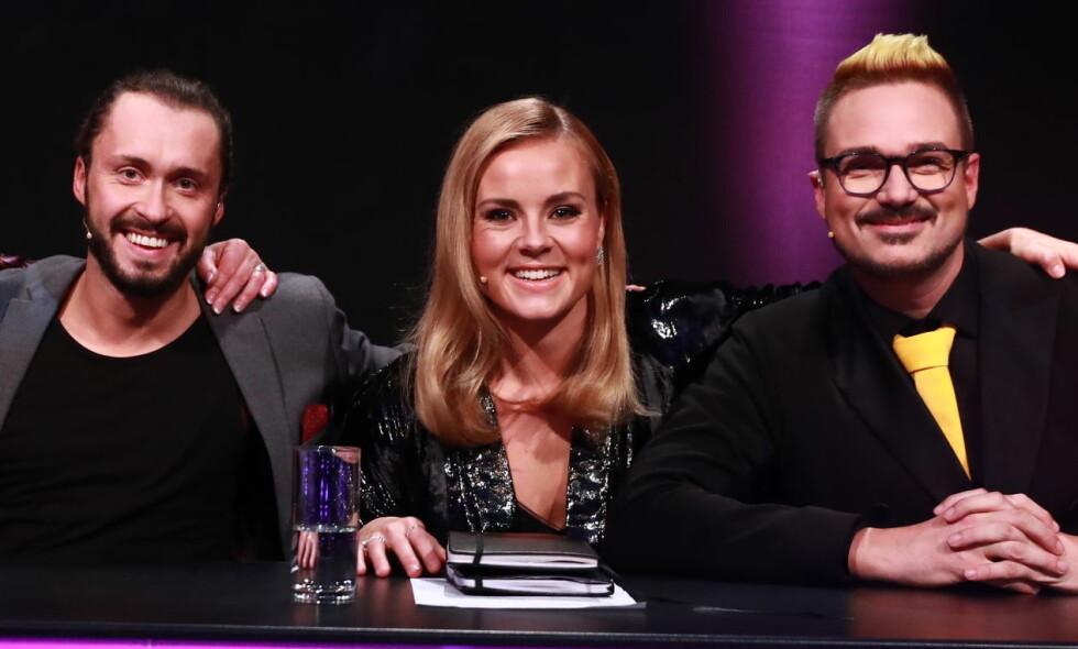 ANGRET: Helene Olafsen holdte på å takke nei til å være gjestedommer under kveldens «Skal vi danse». Foto: TV 2