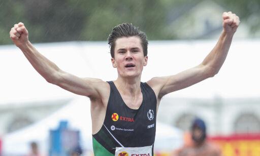 image: Historiske Jakob Ingebrigtsen tok sin tredje strake EM-seier i terrengløp