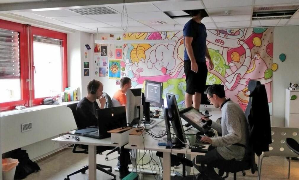 Spillstudioet Hyper Games er bare én av mange muligheter for norske spillutviklere. Men å få jobb der er ikke lett. 📸: Hyper Games