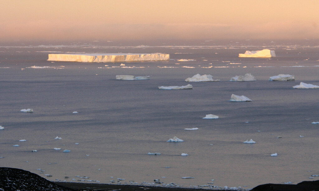 BØR VERNES: Weddelhavet i Antarktis. Foto: Enrique Marcarian / Reuters / NTB scanpix
