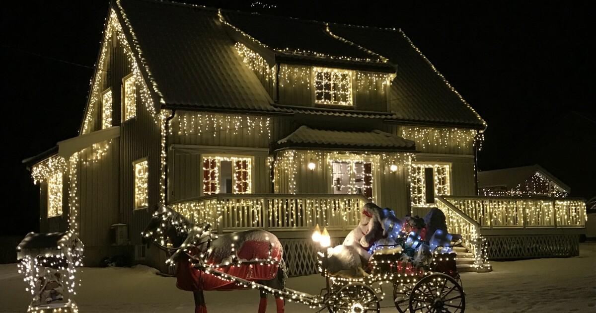 Stilig Vant «Årets julehus» - her er ekspertens beste julelys-tips - Seher PM-78