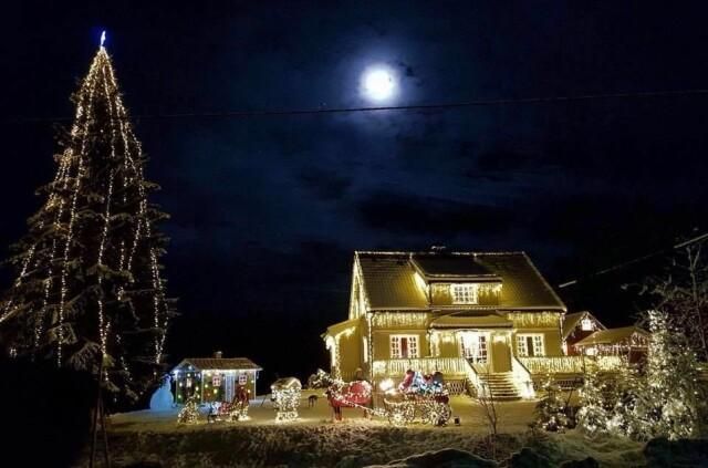 Fasjonable Vant «Årets julehus» - her er ekspertens beste julelys-tips - Seher IK-97