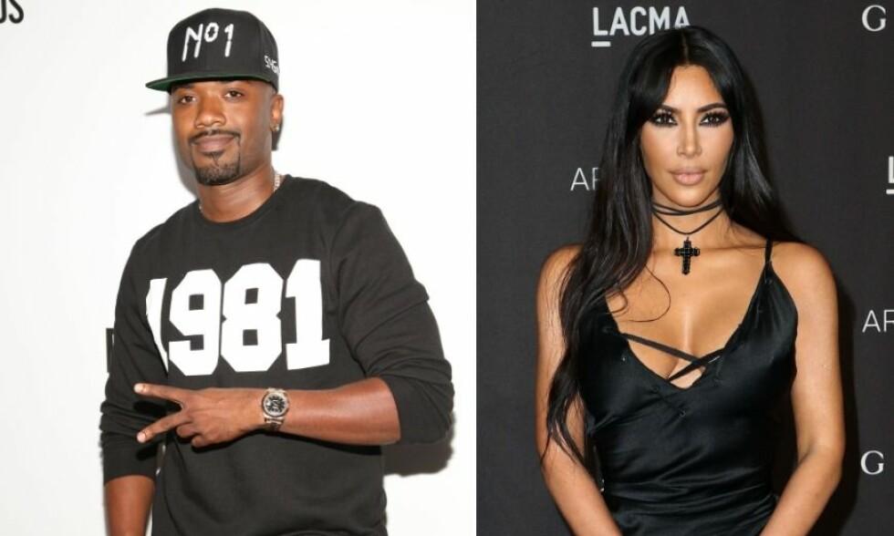 SLÅR TILBAKE: Kim Kardashian tok til Twitter for å kommentere uttalelsene Ray J har kommet med. Foto: NTB Scanpix