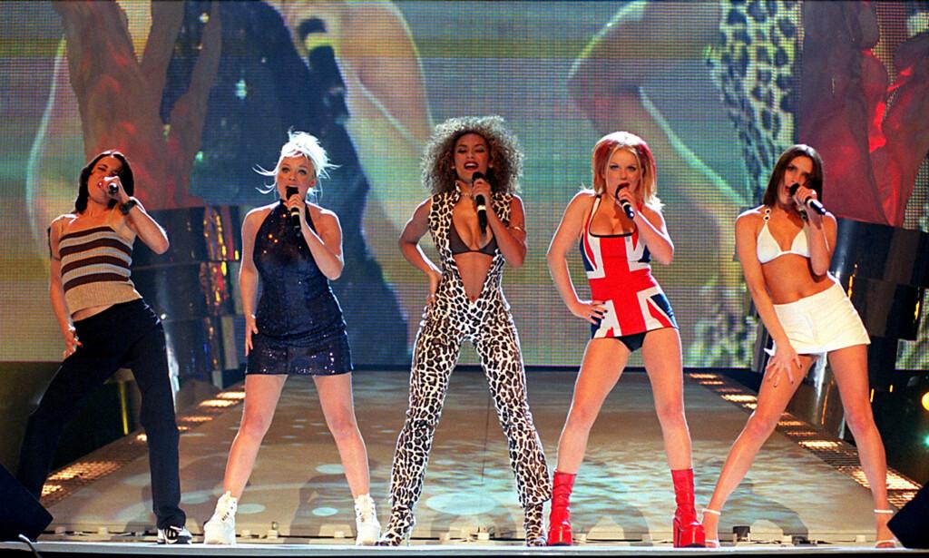 RYKTER OM GJENFORENING: Spice Girls lover å komme med en nyhet klokken 16.00 norsk tid. Foto: NTB scanpix
