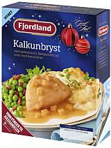 MED EPLE: Kalkunybryst fra Fjordland.