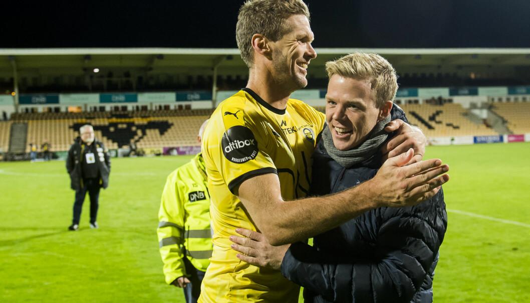 <strong>UTEN KONTRAKT:</strong> Frode Kippe (til venstre) har ikke kontrakt med Lillestrøm i 2019. Erling Knudtzon (til høyre) skal spille for Molde. Foto: Bildbyrån
