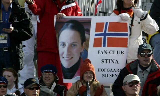 GULLHÅP I OL: Etter å ha herjet i storslalåm i hele OL-sesongen 2001/02, var Stina Hofgaard Røsjø en gullkandidat i OL i Salt Lake City i 2002. Det gikk ikke etter planen. Foto: Bjørn Langsem / Dagbladet.