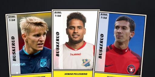 image: Dagbladet kårer de 50 beste fotballspillerne fra Buskerud