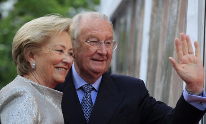 <strong>GIFT I 59 ÅR:</strong> Kong Albert II og italienske dronning Paola har vært gift siden 1959. Foto: NTB scanpix