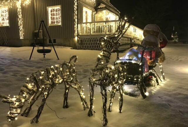 Herlig Vant «Årets julehus» - her er ekspertens beste julelys-tips - Seher WF-33