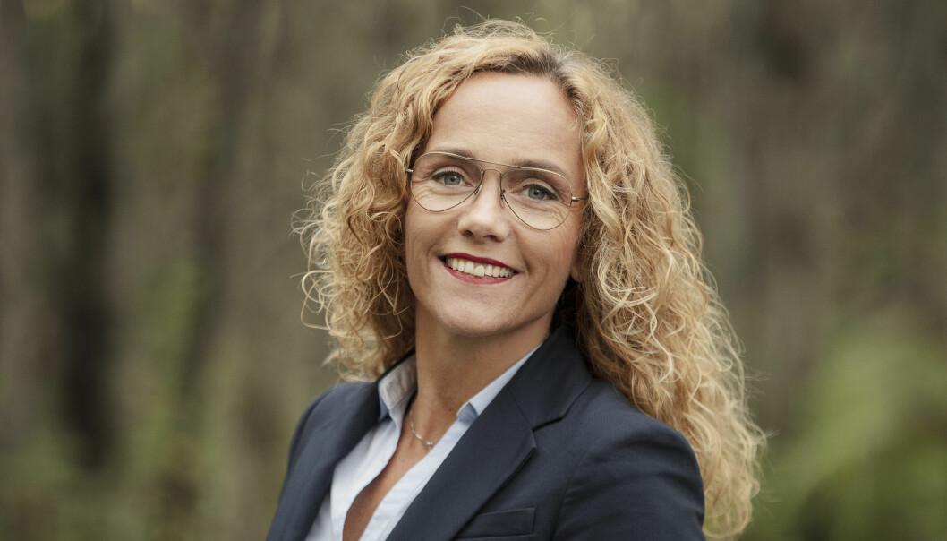 <strong>FORSKER PÅ BARNS SPISEVANER:</strong> Silje Steinsbekk har sammen med en forskergruppe sett nærmere på hvordan barns spisevaner påvirkes av foreldrenes atferd. FOTO: NTNU Samfunnsforskning