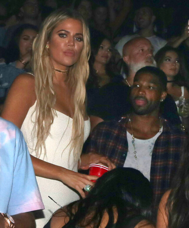 BLOG: Tristian and Khloe, together shot in 2016, had a very turbulent relationship. It is better not to distract Tristian from the scandal of unbelief. Photo: Splash News / NTB scanpix