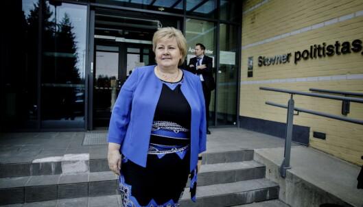 Ap-topp kalte Erna Solberg feig. Slik svarer statsministeren