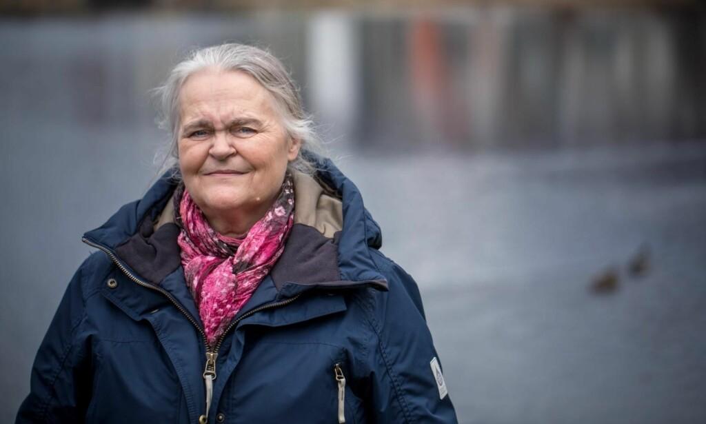 VONDT Å TENKE PÅ: Da Gunn Marit Berentsen (63) fortalte om fortiden, begynte tårene å renne. FOTO: Eivind Senneset