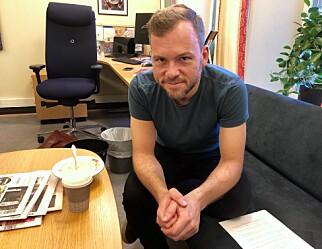 NARRESPILL: SV-leder Audun Lysbakken mener debatten om offentlig eller privat velferd er et narrespill. Foto: Gunnar Ringheim / Dagbladet