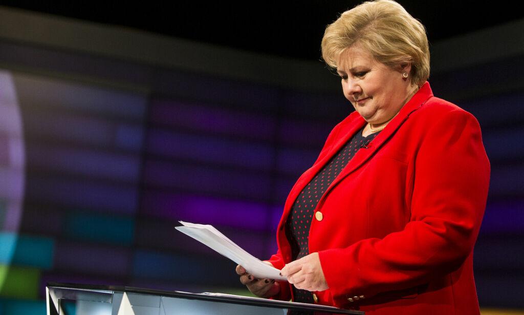 image: Erna brukte feil aborttall i Debatten
