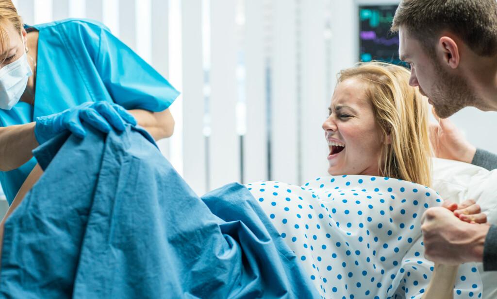 ALVORLIG RIFT: Sfinkterruptur er den mest alvorlige formen for rift etter vaginal fødsel. Andelen fødende som får denne skaden i Norge har blitt betydelig lavere de siste årene. Foto: NTB / Scanpix / Shutterstock.
