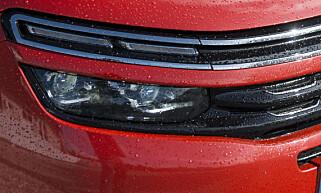 DOBBELTSYN: Citroën skiller seg fra mengden med lys i to etasjer. Foto: Jamieson Pothecary