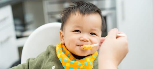 Slik gir du barnet gode spisevaner helt fra start