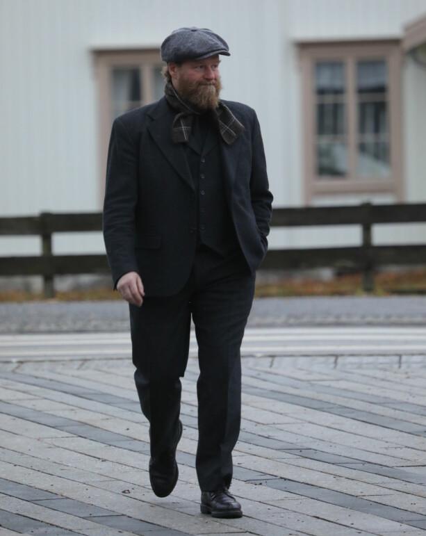 TIL STEDE: Petter Schjerven. Foto: Morten Eik
