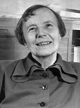 <strong>«UANSVARLIG»:</strong> Elise Ottesen-Jensen møtte lite motstand i Sverige, men biskop Bo Giertz var kritisk. Foto: NTB scanpix