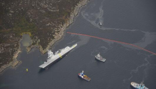 Solberg om fregattulykken: - Vil svekke sjøforsvarets kapasitet
