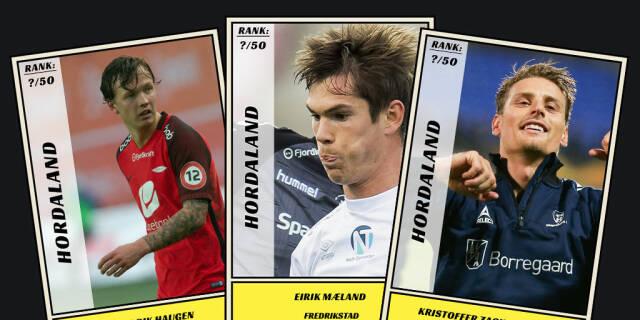 55f881a2 Dagbladet kårer de 50 beste fotballspillerne fra Hordaland