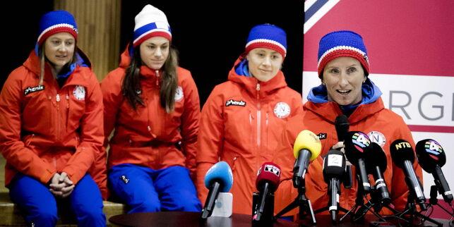 image: Norske jenter ryster internasjonale stjerner: - Er det virkelig sant?