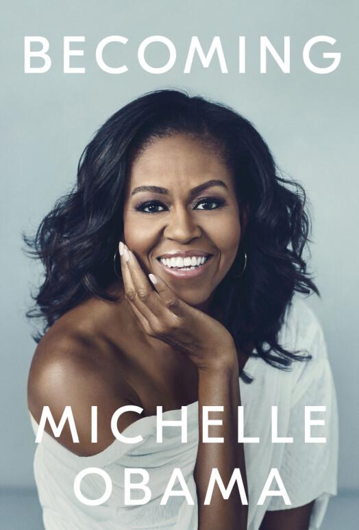 BOKATUELL: Neste uke slippes Michelle Obamas bok «Becoming». Foto: Crown via AP/ NTB scanpix