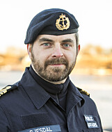 Thomas Gjesdal, news and information officer in the Navy. Photo: Armed Forces