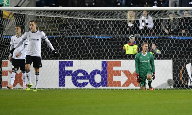 583ab9d1 SLITER: Rosenborg tapte 2-5 mot RB Salzburg i Europaligaen. Foto: Ole