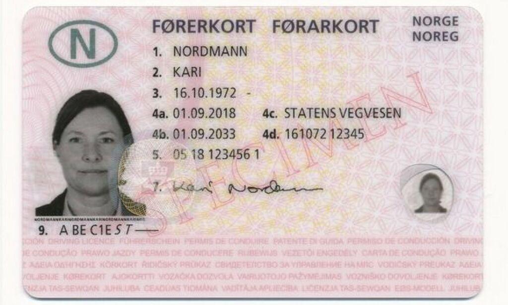 image: Nytt førerkort: Her er de skjulte hemmelighetene