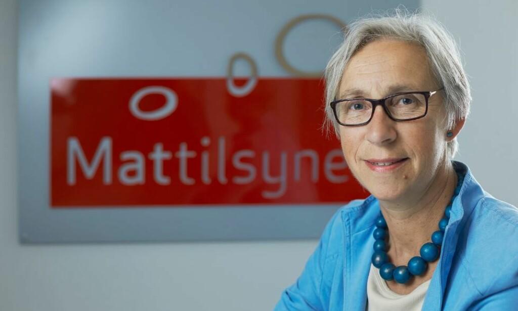 FORNØYD: - Funnene som ble gjort, viser at samarbeidet mellom Mattilsynet og Forsvaret fungerer som det skal, sier direktør Karen Johanne Baalsrud.