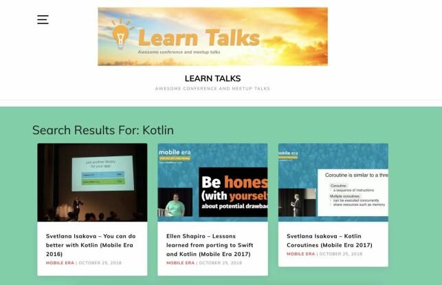 Slik ser den norskutvikla nettsida LearnTalks.com ut. 📸: Khoa Pham