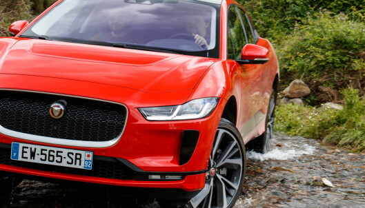 Begrenset rekkevidde på Jaguar i-Pace