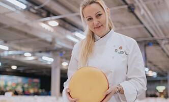 <strong>SALGSVEKST:</strong> Kraftig vekst for norsk ost denne uka også i Meny- kjeden. Her ved osteansvarlig Siri Helen Hansen-Barry. Foto: Meny
