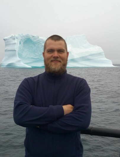 SAILED TO GREENLAND: Dmitry participated in experimental snow crab fishery off the coast of Greenland before the boat turned south.