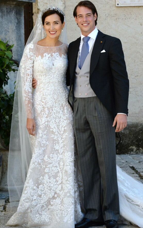 HAR TO BARN: Prins Felix giftet seg med Claire Lademacher i september 2013. Foto: AFP/ NTB scanpix