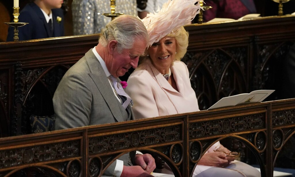 STOLT: Both Prince Charles and his wife, Duchess Camilla, were in a good mood at the wedding of Prince Harry & # 39; and Princess Meghan. It was probably a great day for them. Photo: NTB scanpix