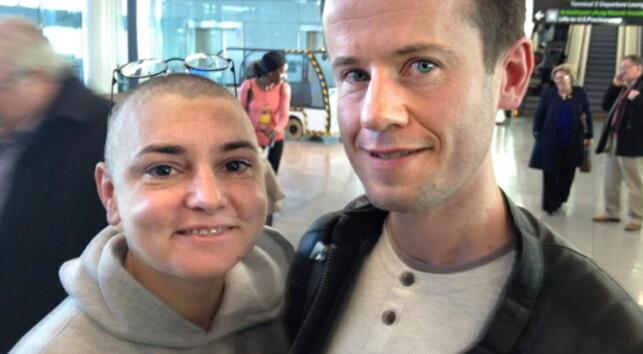 KORTVARIG LYKKE: Ekteskapet varte ikke lenger enn i 18 dager for Sinead O'Connor og Barry Herridge. Foto: Sineadoconnor.com