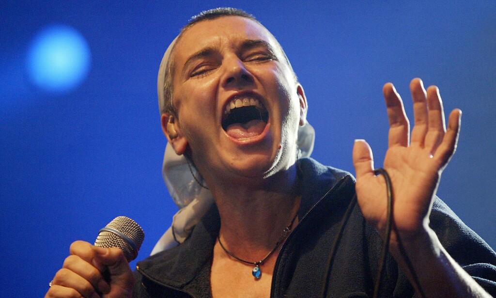ÅRELANG KARRIERE: Sinéad O'Connor har vært i rampelyset i over 30 år. Foto: NTB scanpix