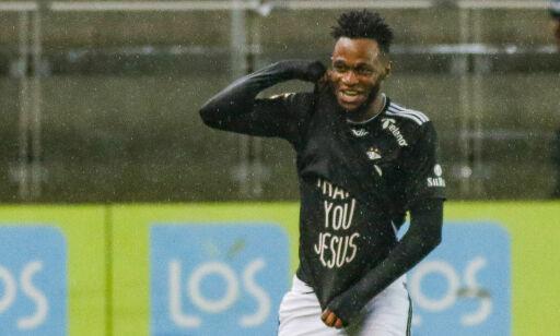 image: Samuel Adegbenro sikret det fjerde strake gullet for Rosenborg