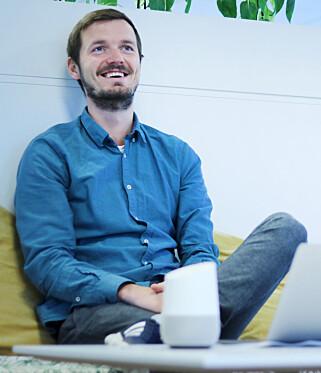Sols Google Home app er en chatbot i forkledning forklarer Ryszard Rzepa. 📸: Ole Petter Baugerød Stokke