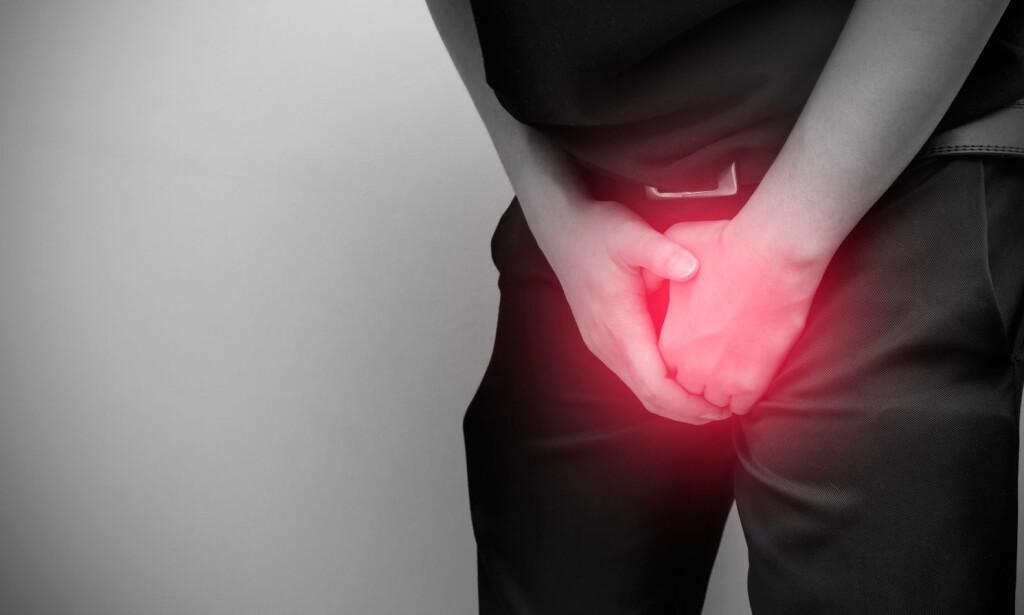 KAN FORÅRSAKE VEVSSKADE: Eldre menn og barn er mest utsatt for denne tilstanden. Oppsøk lege rask for å unngå varig skade av penis. Foto: NTB Scanpix/Shutterstock