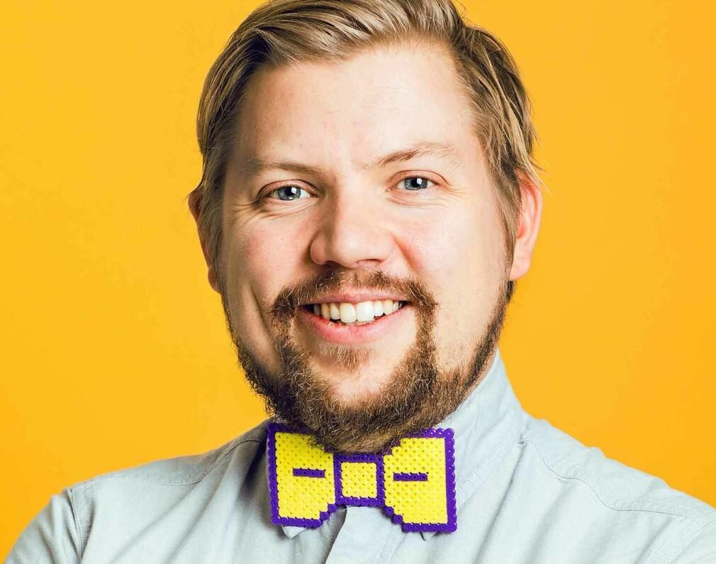 Ukas Koder Håkon Bogen er teknologisjef hos Beining & Bogen. 📸: Beining & Bogen