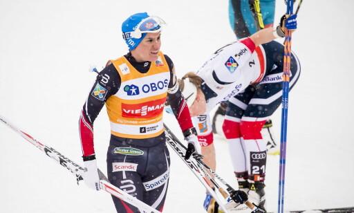 URETTFERDIG: Tittelforsvarer Heidi Weng mener det er urettferdig med så få klassiskrenn i Tour de Ski. Foto: Bjørn Langsem / Dagbladet