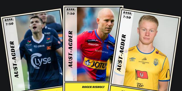 588b02b9 Dagbladet kårer de 50 beste fotballspillerne fra Aust-Agder
