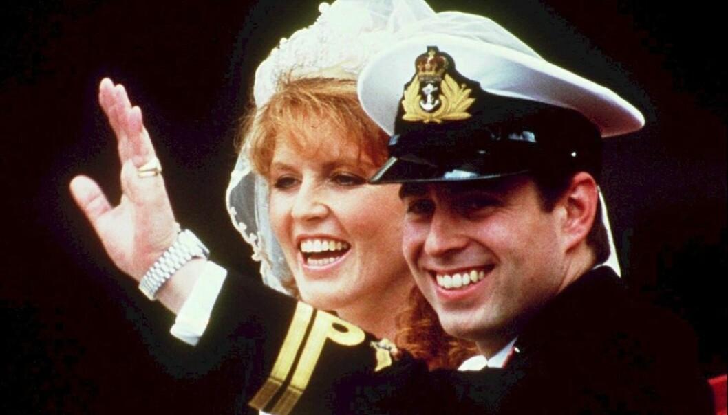 ETTERLENGTET: Da Sarah Ferguson og prins Andrew bestemte seg for å gå hver til sitt i 1992, var det mange som reagerte. Nå snakker hun ut om skilsmissen for første gang på 20 år. Foto: NTB scanpix