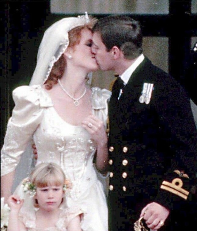 It does not crash in EVERY DAY: Sarah Ferguson married Prince Andrew in 1986 and received the title of Duchess of York. She still takes it, although it is officially out of the royal family. On the other hand, it has a good relationship with the ex-husband. Photo: NTB scanpix